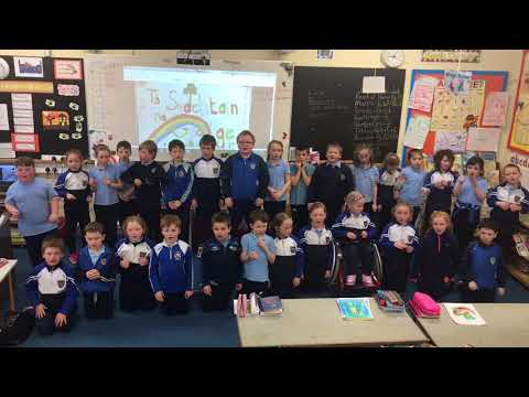 Senior Infants and First Class - Seachtain na Gaeilge