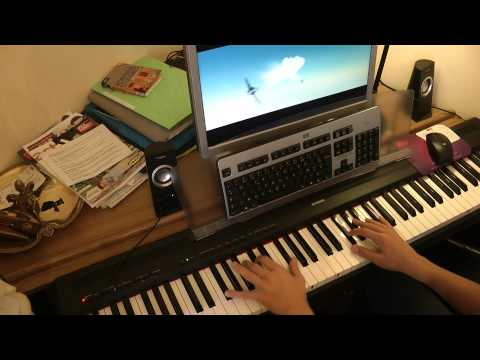 Thirteen senses - Into the fire, piano cover HD
