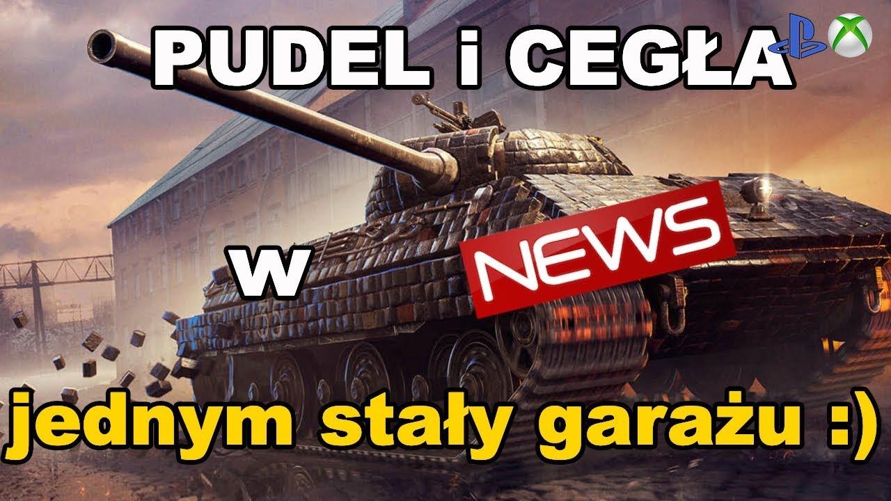 News! Pudel i Cegła w jednym stali garażu World of Tanks Xbox One/Ps4