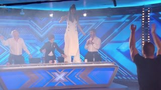 Hilarious Audition Makes Judges and Even The Staffs Dance!