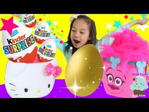 GOLDEN KINDER Easter Eggs Surprise Toys...