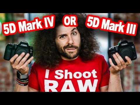 Canon 5D Mark IV or Canon 5D Mark III : Which one is right for you?
