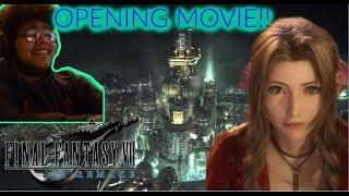 SO BEAUTIFUL!! | Final Fantasy VII Remake Opening  Movie Reaction.