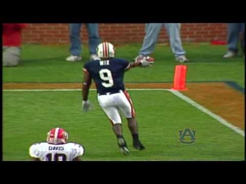 Carnell Williams Pass to Anthony Mix vs. Georgia in 2004