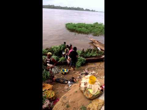 Congo DRC Boma fish Market