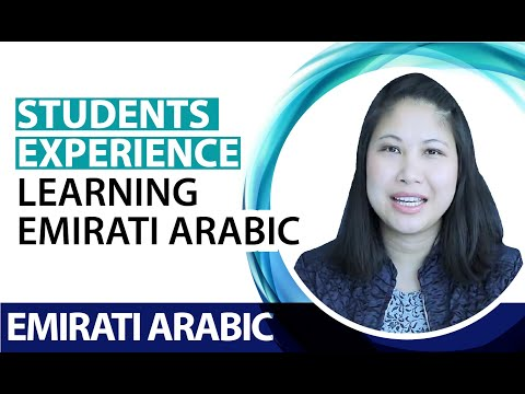 Josephine's experience learning Emirati Arabic after 4 classes