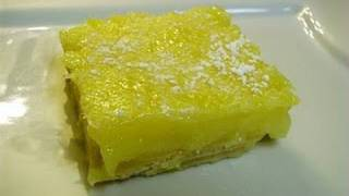 How To Make Homemade Lemon Bars - I Heart Recipes