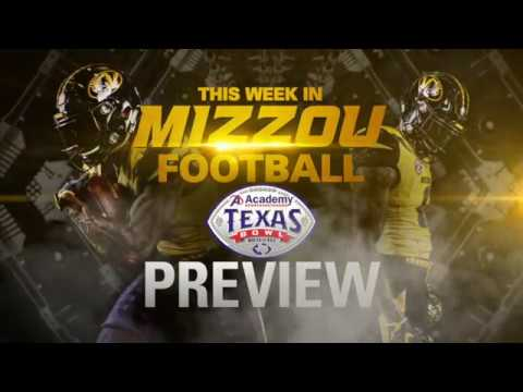 2017 Mizzou Football Texas Bowl Preview
