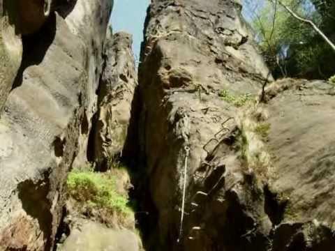 Klettersteig Sächsische Schweiz : Häntzschelstiege sächsische schweiz klettersteig