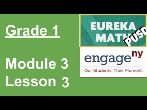 Eureka Math Grade 1 Module 3 Lesson 3