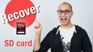 How to Recover Formatted SD cards