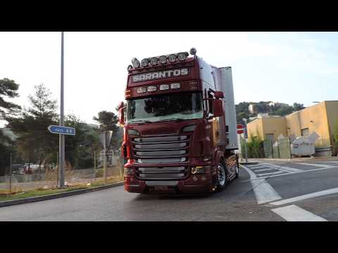 Scania R V8 ''Red Formula'' By Sarantos Petropoulos and Powered