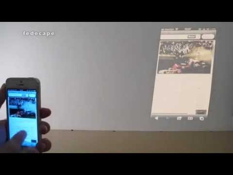 iPhone 5 Projector -CONCEPT VIDEO- Built in Projector