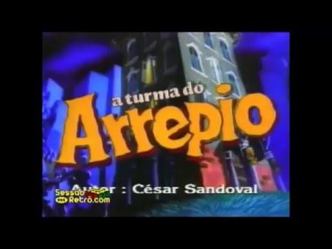 REDE MANCHETE: Turma do Arrepio , DRAKY, ANOS 90