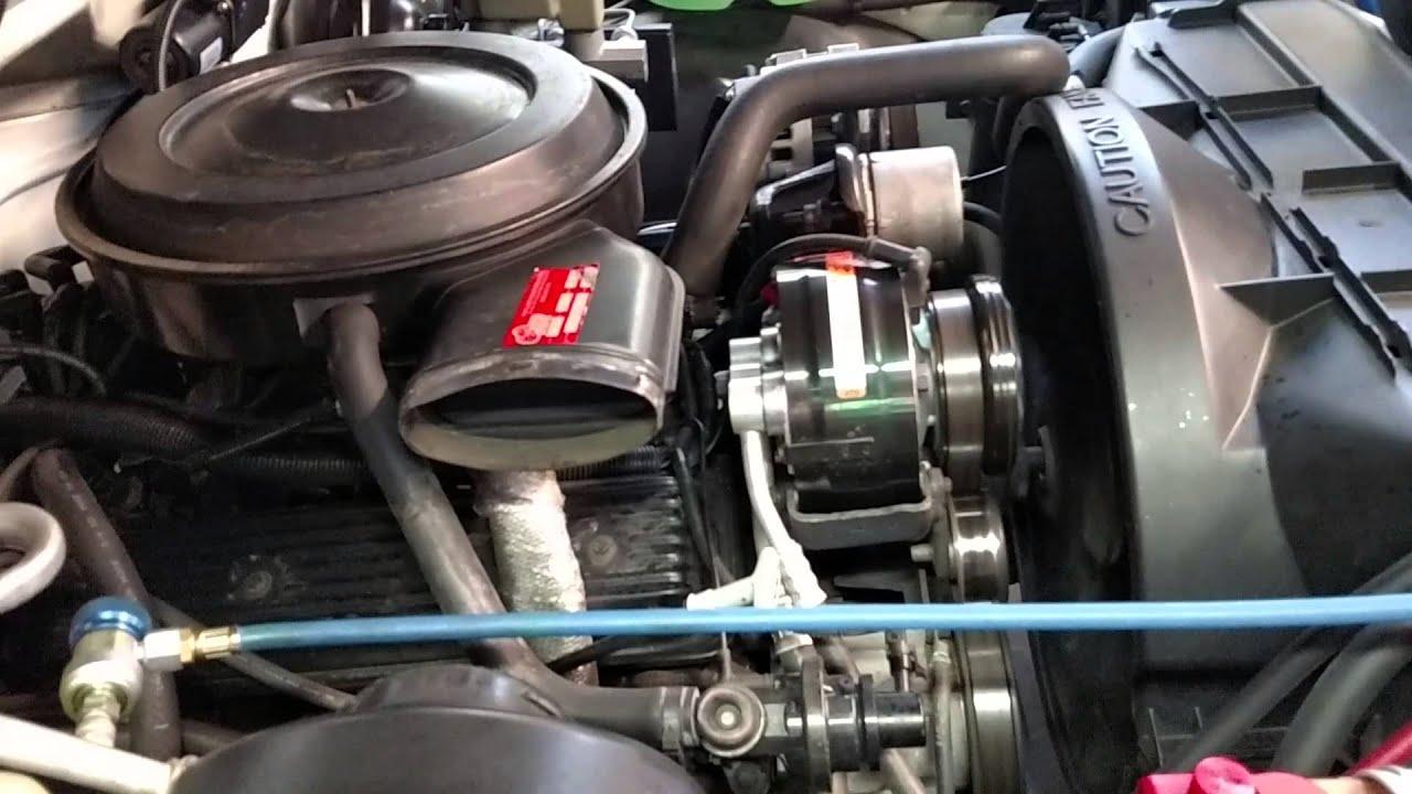 AC Delco AC Compressor 15 20185 seizes up