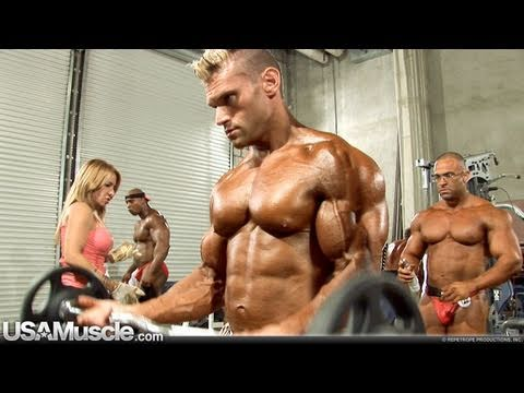 2010 Southern States Bodybuilding Men's Pump Room ...