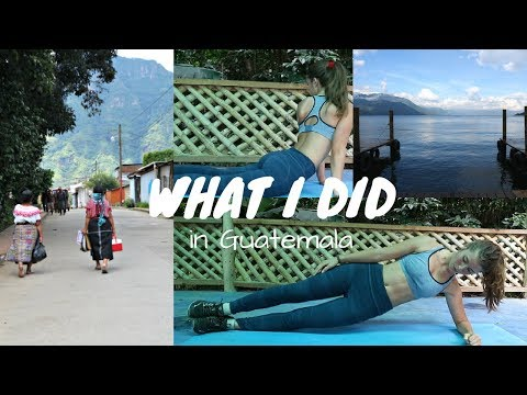 A DAY IN THE LIFE IN GUATEMALA + Healthy Vegan Food | Vlog