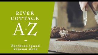 Szechuan spiced venison steak   Steve Lamb