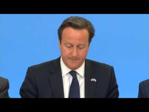 Somalia Conference - Prime Minister David Cameron opening speech