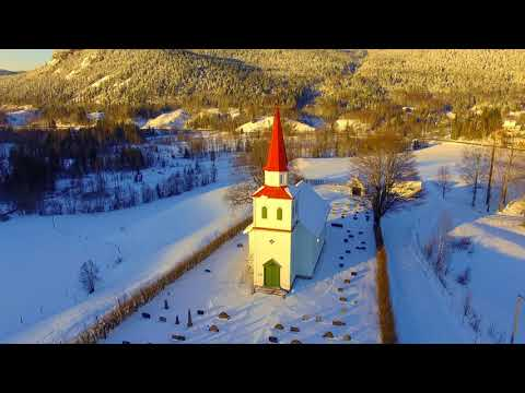 Komnes and Vassås churches (Buskerud and Vestfold, Norway)