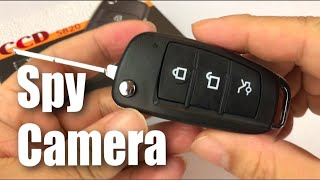 UYIKOO Hidden Spy Camera Fake Car Key Fob review