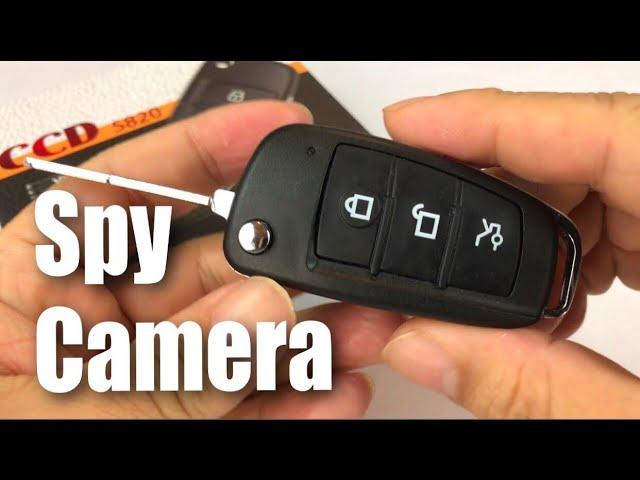 UYIKOO Hidden Spy Camera Fake Car Key Fob review
