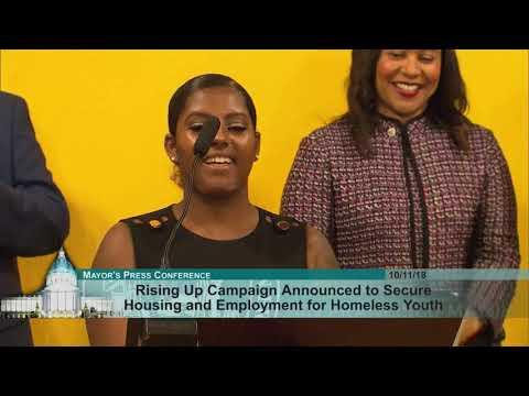 Mayor London Breed Announces Rising Up Campaign To House And Secure Employment For Homeless Youth