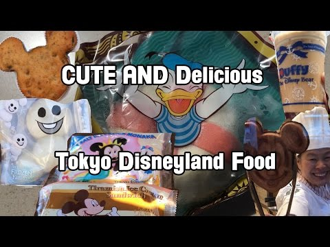 17 More Cute and Delicious Tokyo Disneyland Food Items