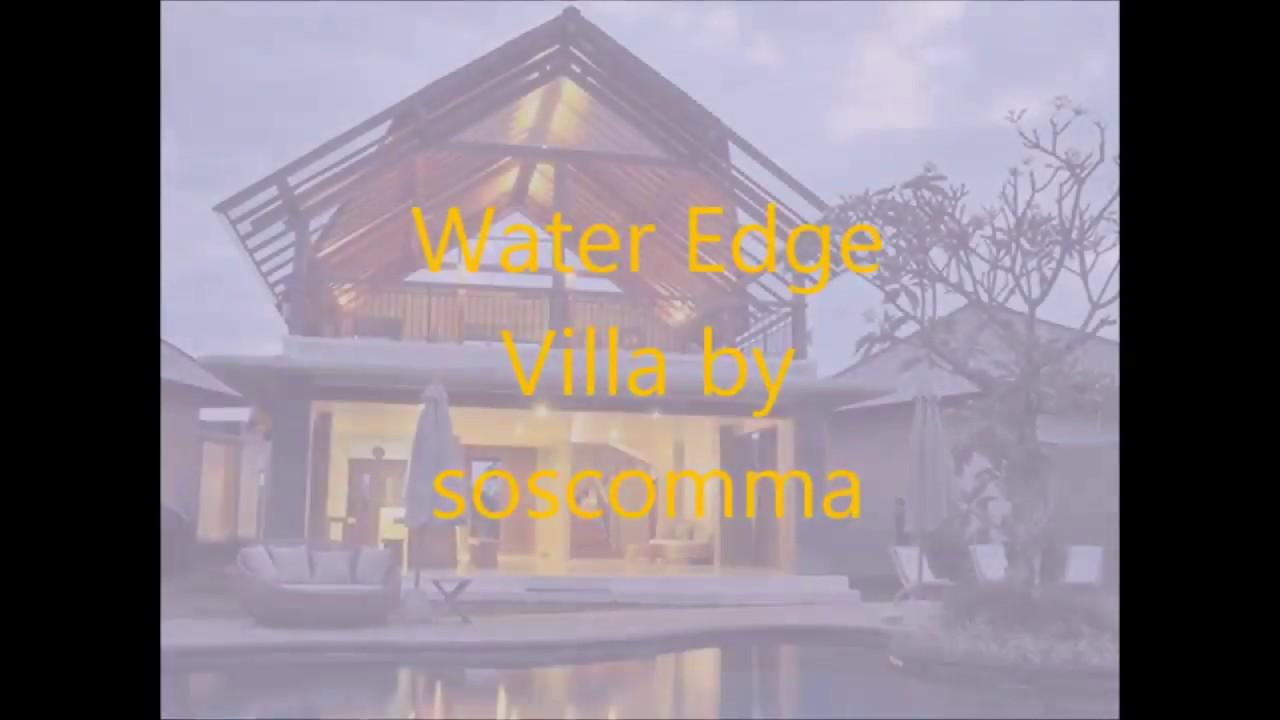 Water Edge Villa By Soscomma Boutique Hotel Bali Indonesia