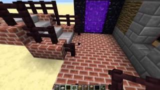 Minecraft Архитектура: Дом #1 - Спальная комната и библиотека [1/3]