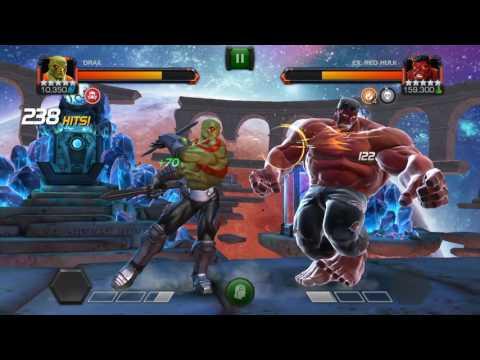 MCOC LOL Drax vs Redhulk SOLOED !!!
