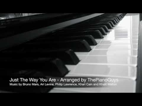 Piano Cover | Just The Way You Are | Arranged By ThePianoGuys | JoLuMusic