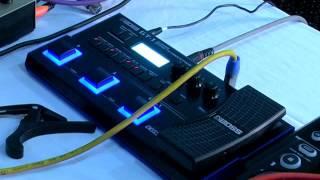 Boss GT 1 Guitar Processor ,Demo in Taal Music