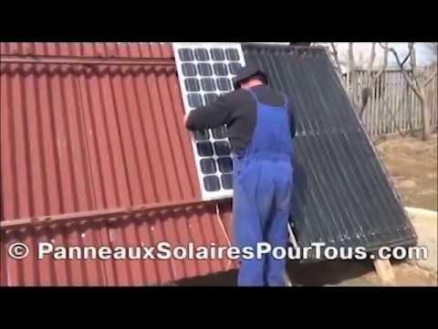 fabriquer et installer ses propres panneaux solaires youtube. Black Bedroom Furniture Sets. Home Design Ideas