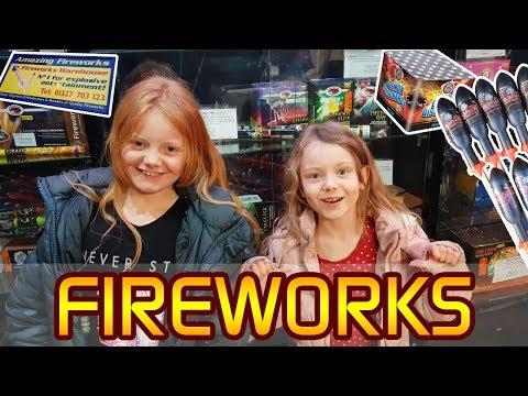 Amazing Fireworks - Bonfire Night - Guy Fawkes 5th November