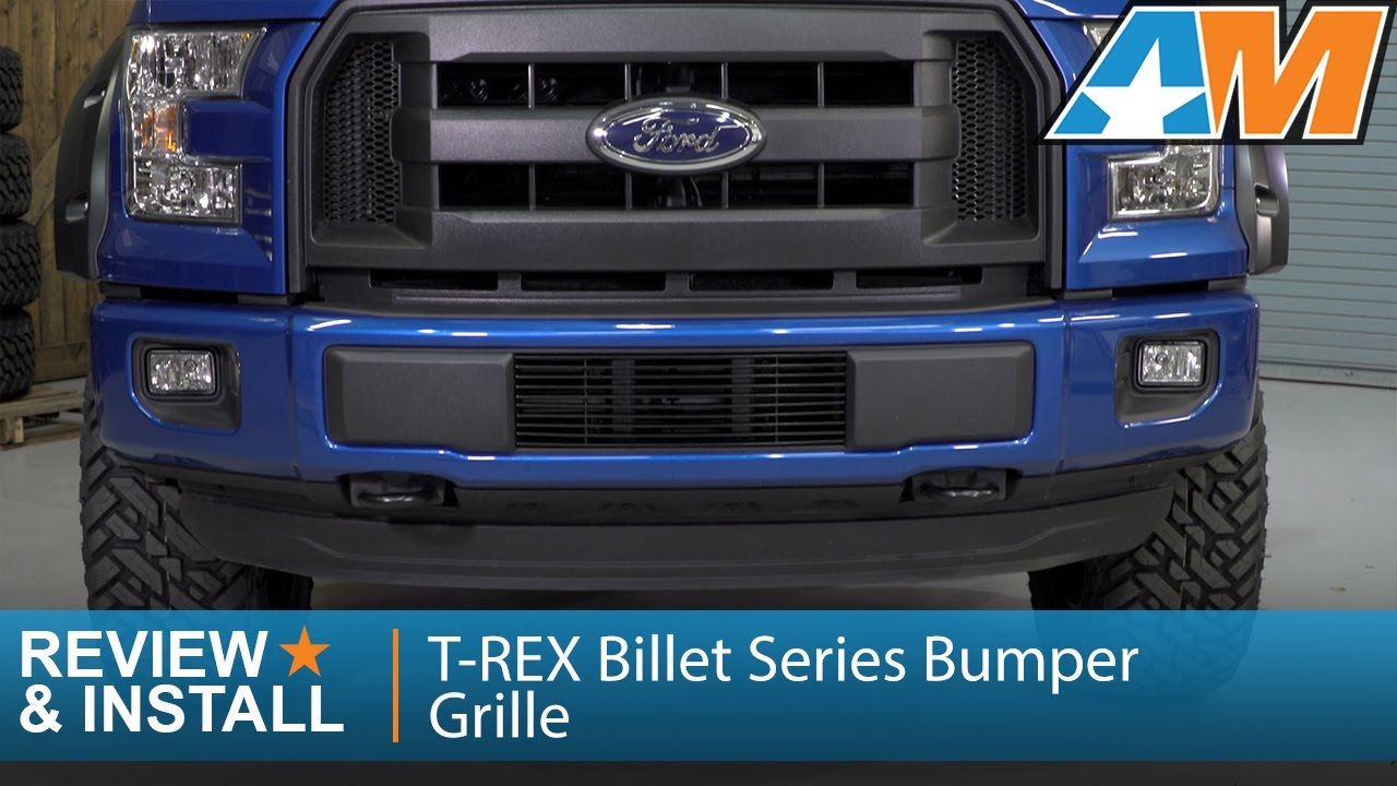 2015 2016 F 150 T Rex Billet Series Bumper Grille Review