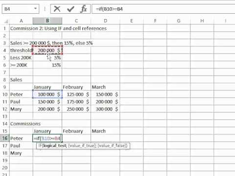 Microsoft Excel - Functions