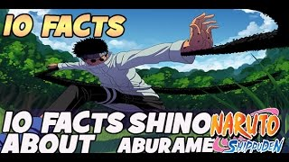 10 Facts About Shino Aburame You Should Know 10 Things You Should Know Naruto Shippuden!!!