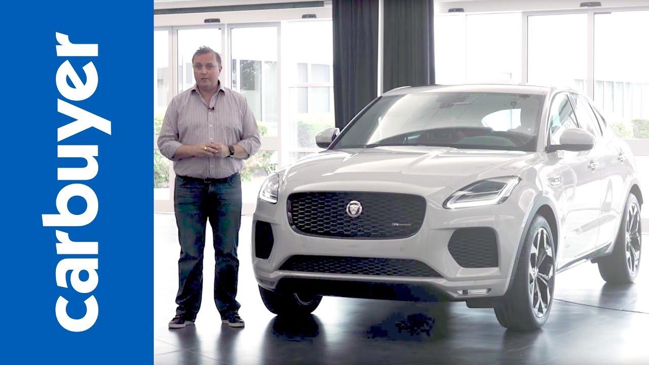 Jaguar E-Pace SUV: first look - Dauer: 3 Minuten, 9 Sekunden