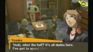 Persona 4 - Christmas Eve - Hanging out with Guys(Teddy, Yosuke, Kanji)