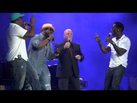 """""""The Longest Time"""" Billy Joel & Boyz II Men@Citizens Bank Park Philadelphia 8/2/14"""