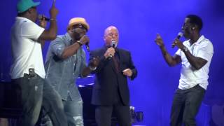 """The Longest Time"" Billy Joel & Boyz II Men@Citizens Bank Park Philadelphia 8/2/14"