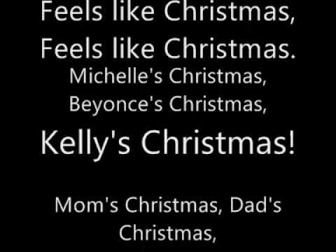 Destiny's Child - 8 Day's Of Christmas Lyrics