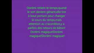 Magical Dorémi saison 1 générique de début karaoké français