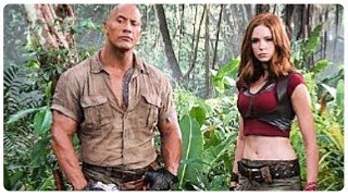 Jumanji 2: Welcome to the Jungle Trailer Teaser (2017) Dwayne Johnson Action Fantasy Movie HD
