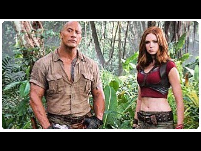 Jumanji 2: Welcome to the Jungle Trailer Teaser (2017) Dwayne Johnson Action Fantasy Movie HD