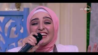 السفيرة عزيزة - المطربة الشابة / هلا رشدي ... تبدع في الغناء لكوكب الشرق