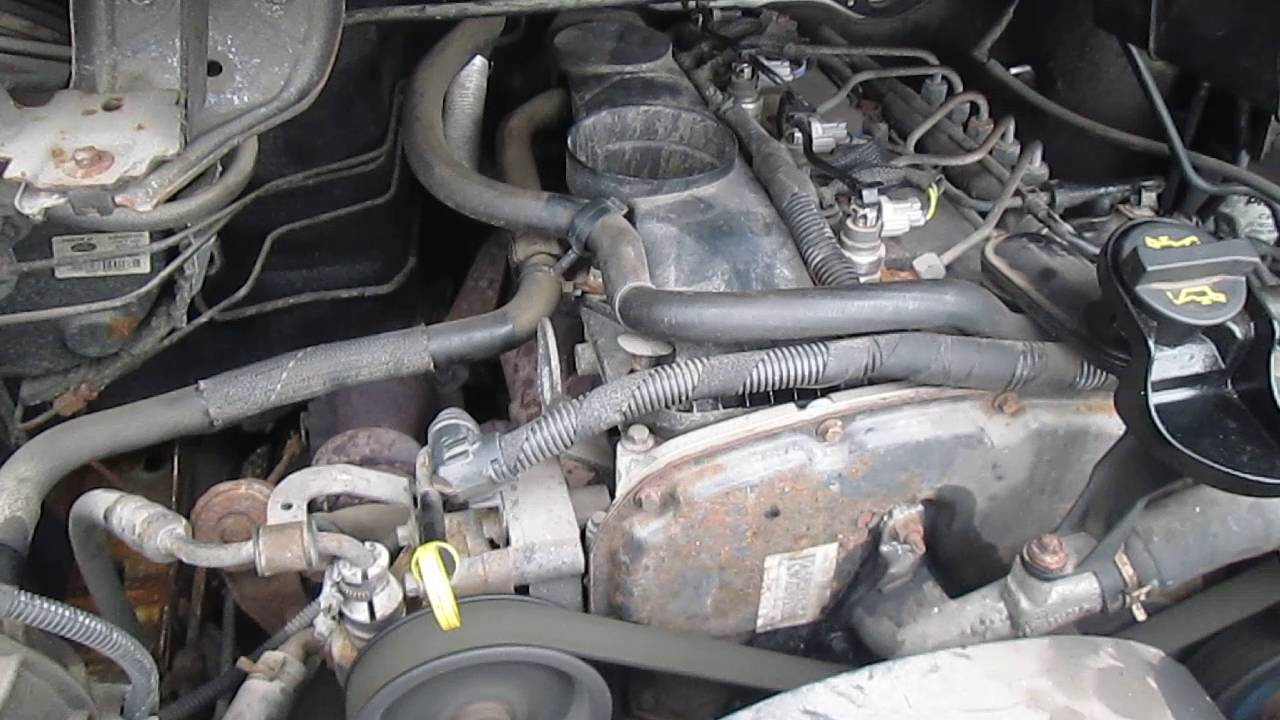 Ford Transit Engine Gearbox   Mk Spares Or Repair