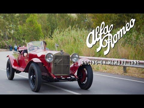 Jochen Mass drives an Alfa Romeo 6C 1500 - Alfa Romeo Racing on Memory Lane