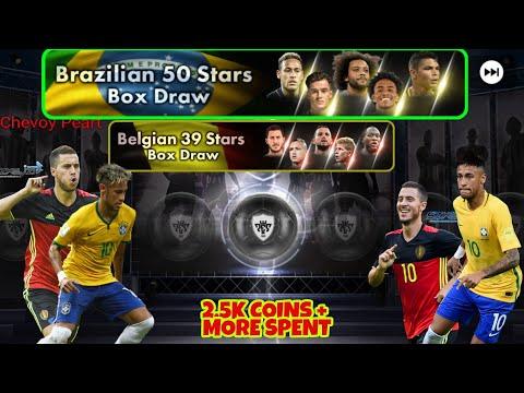 BELGIAN 39 AND BRAZILIAN 59 STARS BOX DRAW PACKSPES 2018 MOBILE